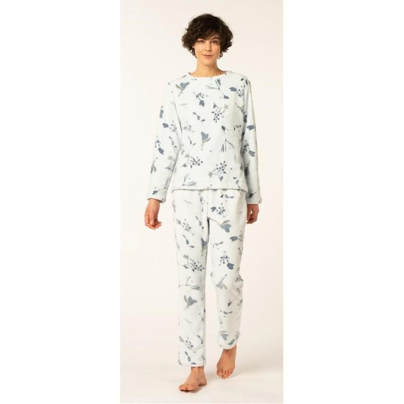 Eskimo-mona-pyjama-house suit-homewear-fleece-ladies-winter