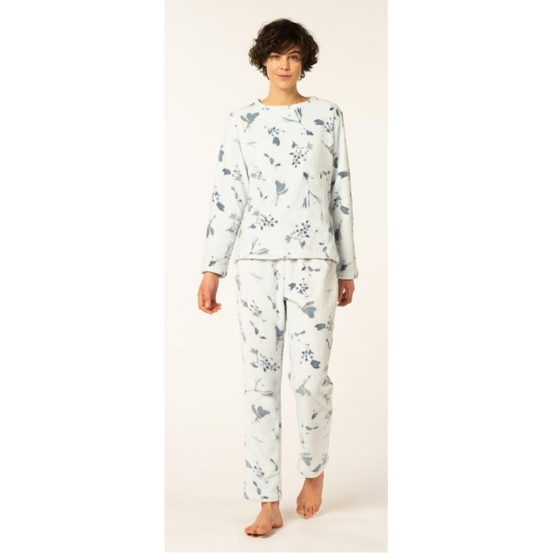 Eskimo-mona-pyjama-huispak-homewear-fleece-dames-winter
