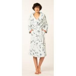 Dames homewear badjas kamerjas peignoir fleece winter