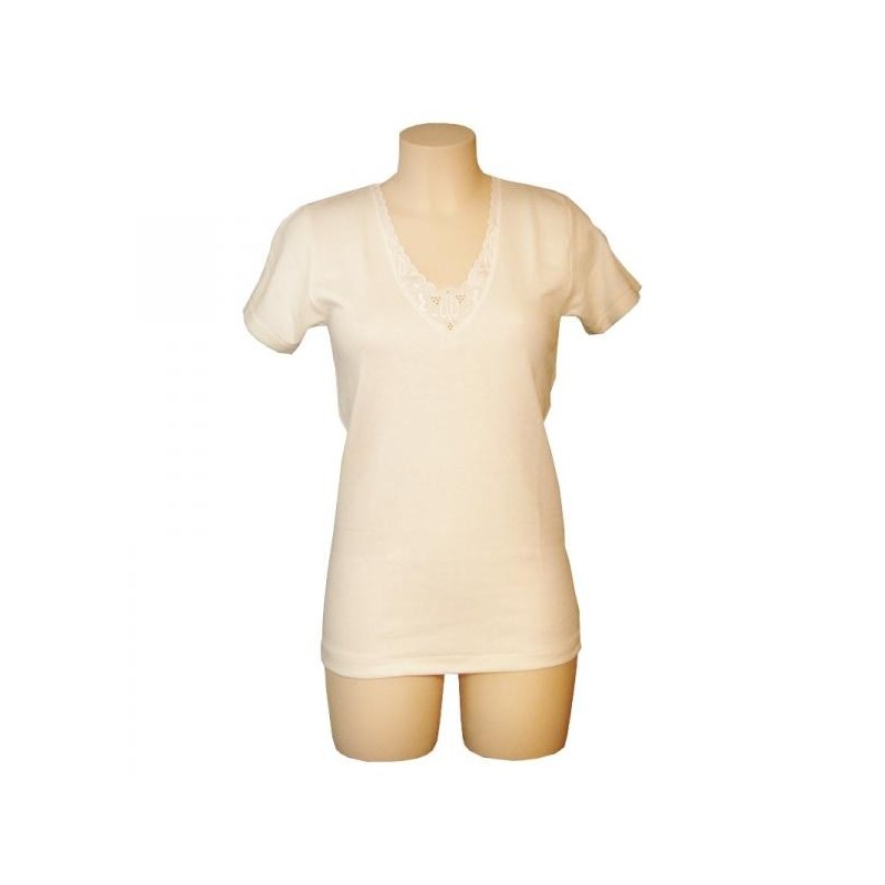 entex tshirt thermo wool short sleeve