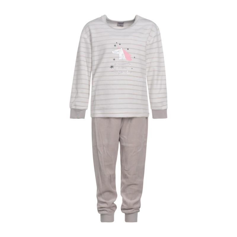 kinderen-meisjes-outfitter-eenhoorn-nikki-velours-spons-kleuter-pyjama