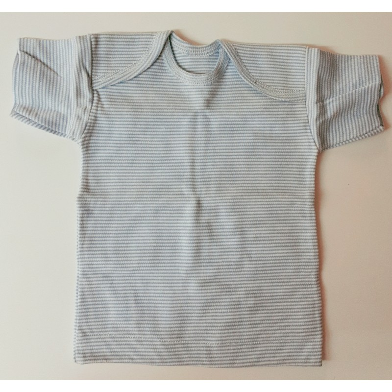 Underwear children baby or toddler, undershirt with short sleeves.