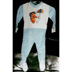 Baby pajama feet