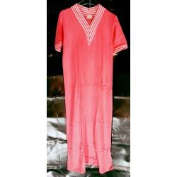 Nachtkleed V hals