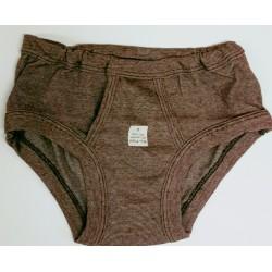 heren onderbroek vintage jeans bruin