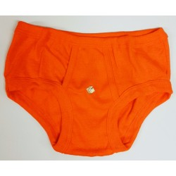 men's hip slip vintage orange