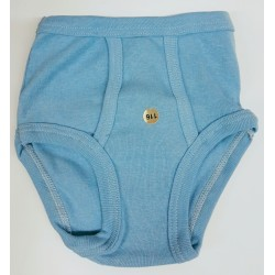 Boys' underpants vintage light blue