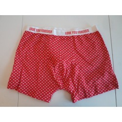 valentine men's boxer hearts