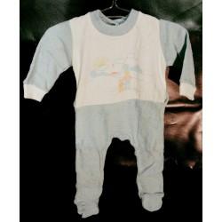 Baby pyjama voetjes spons