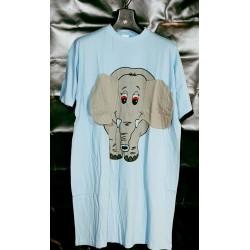 Nachthemd bigshirt olifant