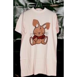 Nachthemd bigshirt konijn