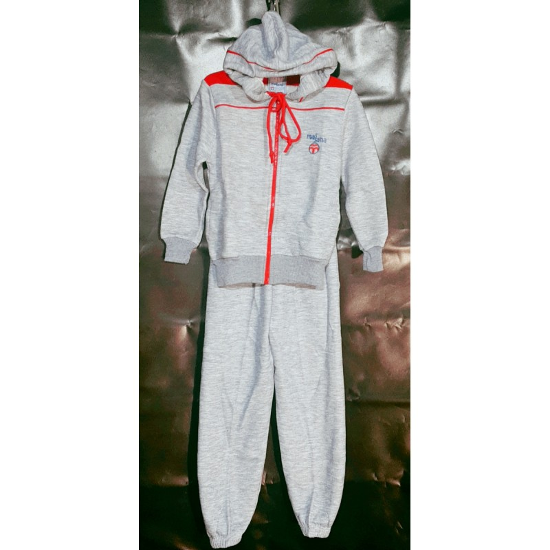 kids-Jogging-with-hood-home-wear-mixed-cotton-zipper