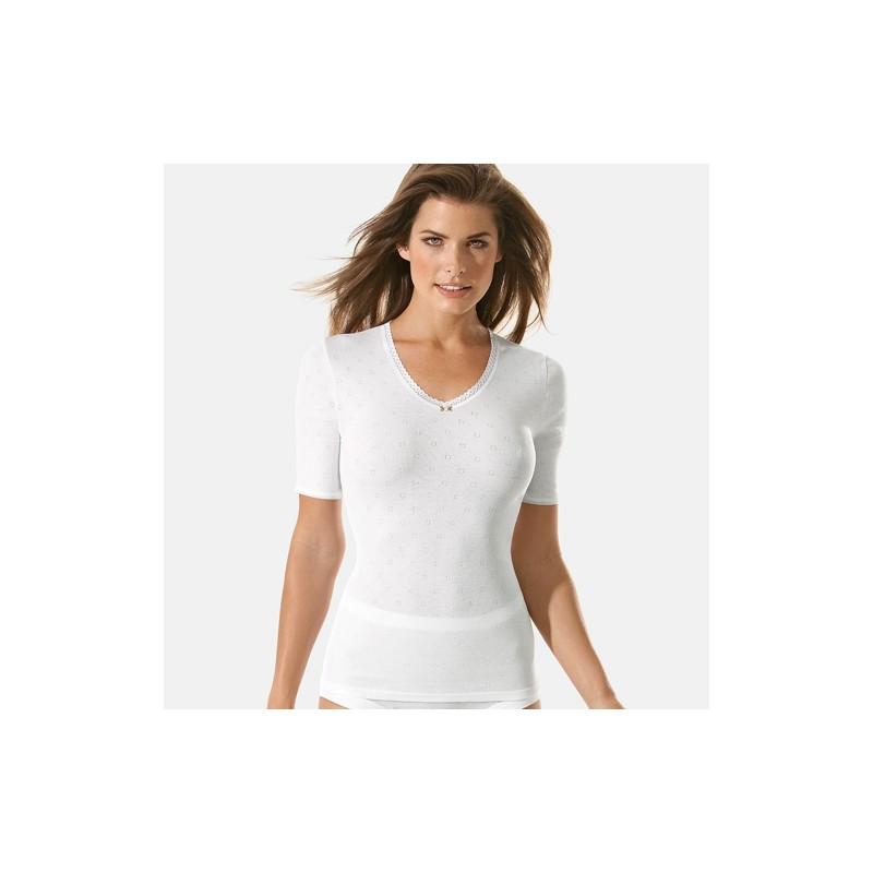 ladies underwear undershirt short sleeve speidel